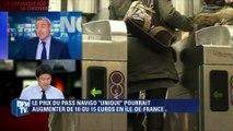 Transports: le pass Navigo pourrait augmenter de 10 à 15 euros en Île-de-France