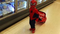 Little Boy SpiderMan Going to the Store for Milk @  3D Animation - English Nursery rhymes - 3d Rhymes - Kids Rhymes - Rhymes for childrens