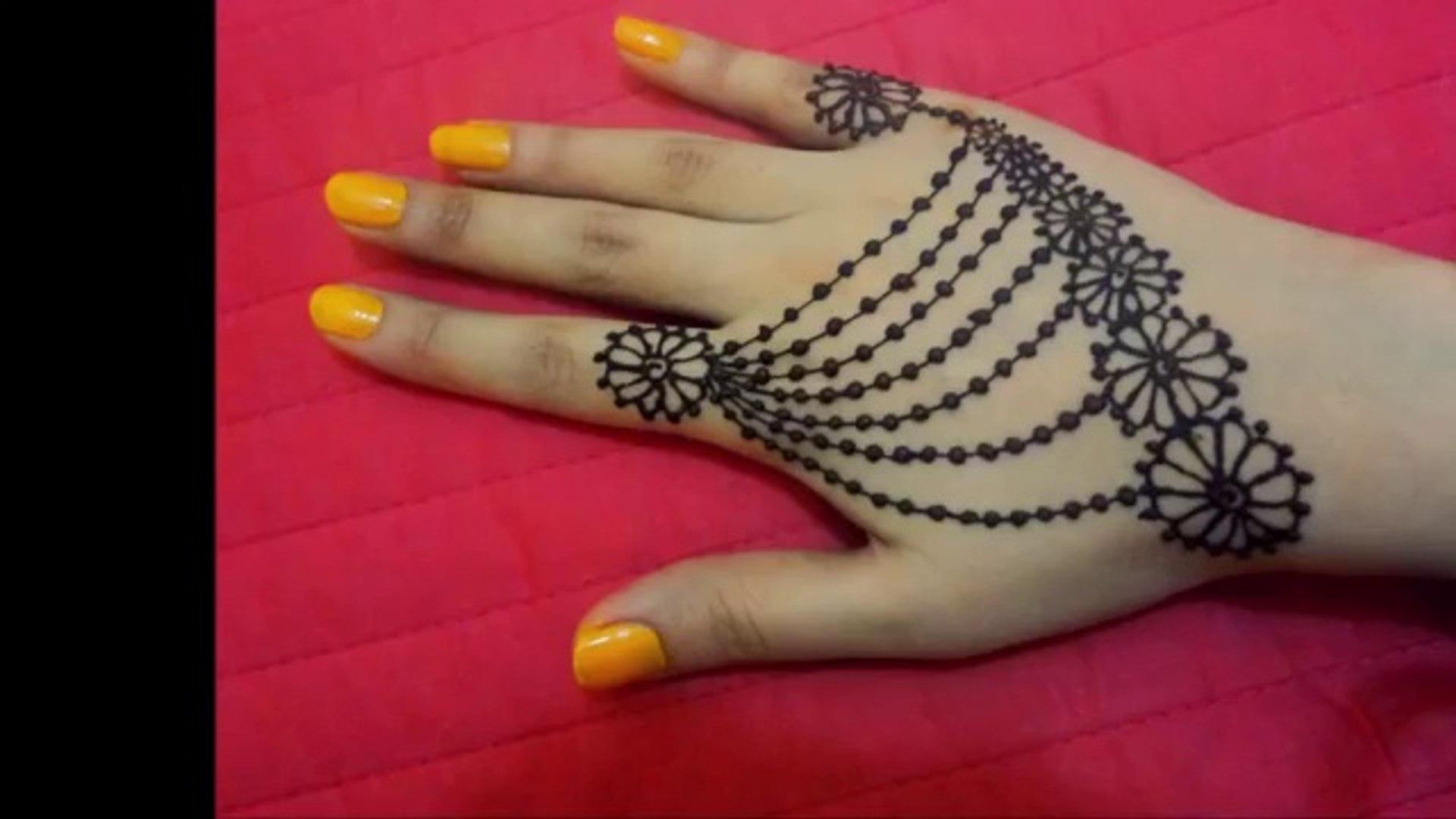 Simple Mehndi Design Jwellery Mehndi Designs Houriya Media