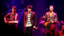 "Jonas Brothers ""Hello Beautiful"" 11/29/12 Pantages Theater, Los Angeles"