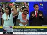 México: 8 muertos y decenas de heridos por represión policial a CNTE