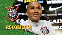 Corinthians apresenta Cristóvão Borges e técnico deve manter a base de Tite