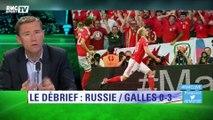 """Brisbois : """"Bale est la seule star au rendez-vous !"""""""