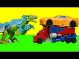 Transformers Slash one step changer & Optimus prime  Bumblebee car toys 트랜스포머 슬래쉬 범블비 옵티머스프라임