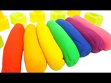 Play Doh Modelling Clay Fun and Creative Learn Colors for SlimeMonster Surprise Toys Car toy Kids