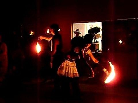 Second Saturday Art Walk - Fire Dancing (2/4)