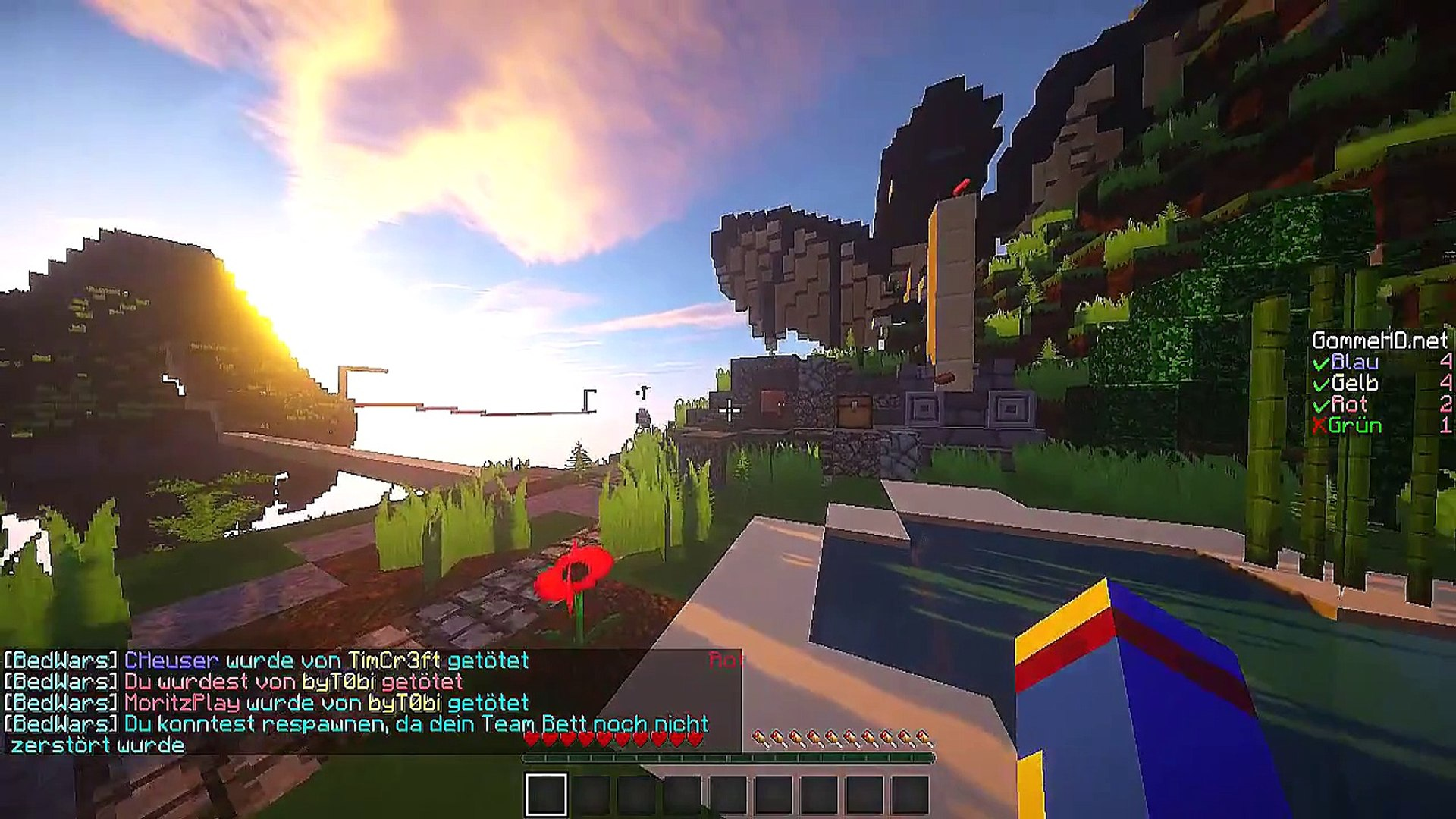 Let´s Play Minecraft Bedwars #51 GommeHD-Server [HD]