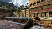 Uncharted 2: Among Thieves Nate Got Stuck.