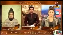 Mufti Abdul Qavi Qandeel Baloch ko ek Program mein pyaar Mohabbat se mulaqat ki dawat dete huye