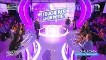 """Grosse chute de Caroline Ithurbide hier soir dans """"Touche pas à mon poste"""" - Regardez"""