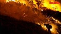 Los Angeles menacée par deux immenses incendies