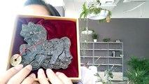 Animail logo Pu Erh tea Brick tea Review