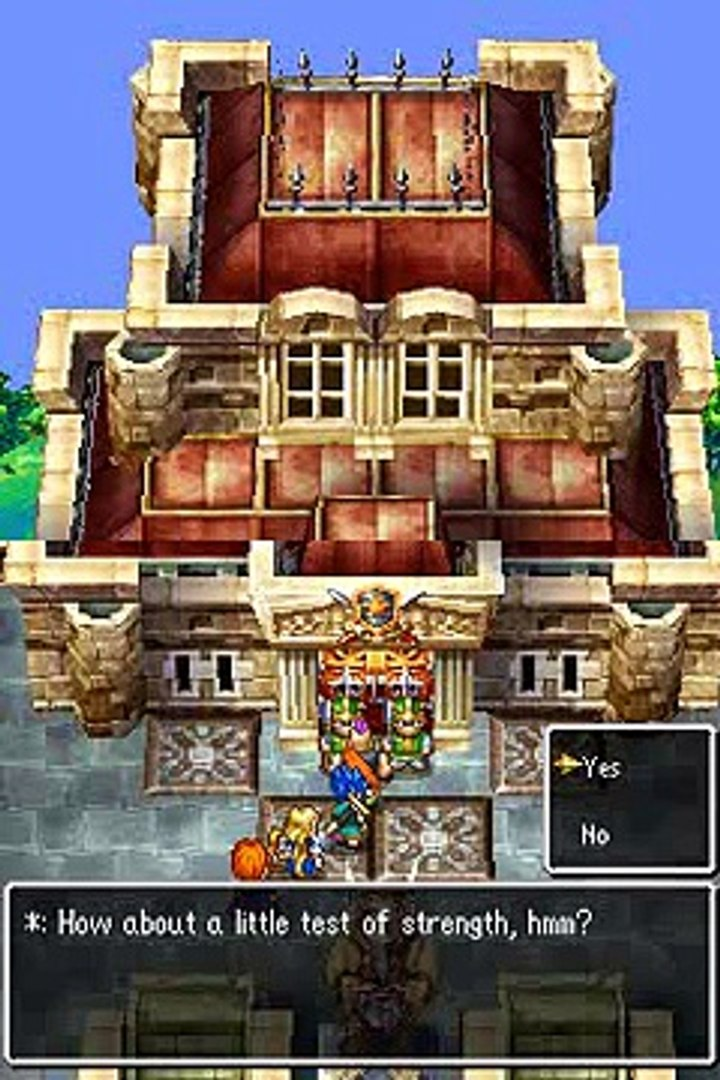 Dragon Quest VI - Boss Battle #10 - Brick and Brock