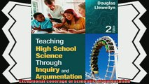 there is  Teaching High School Science Through Inquiry and Argumentation