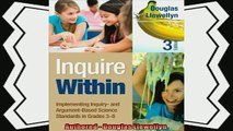 behold  Inquire Within Implementing Inquiry and ArgumentBased Science Standards in Grades 38
