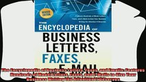 complete  The Encyclopedia of Business Letters Faxes and Emails Features Hundreds of Model Letters