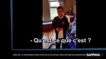 Euro 2016 : Ce papa réalise le rêve de son fils en lui offrant un place pour son anniversaire (Vidéo)