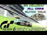 Gran Turismo 6 - GT6 50 Million/All Cars Glitch Talk ~ 1080p