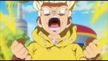 Trunks helps summon Goku, Vegeta, Beerus, and Whis! Black Goku tracking