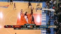 Dwyane Wade 20 points vs New York Knicks full highlights round 1 game 3 NBA Playoffs 2012.05.03