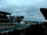 24 heures du Mans Camions 2011  départ Jennifer Janiec  en première ligne.