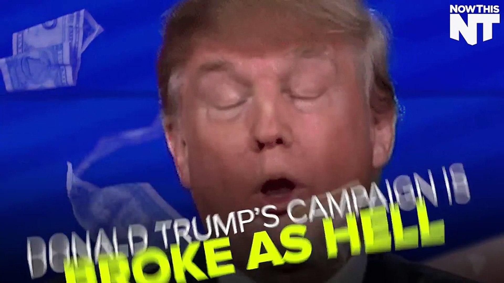 Donald Trump Is Broke