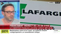 Lafarge a financé indirectement Daech. Zap actu du 21/06/2016 par lezapping