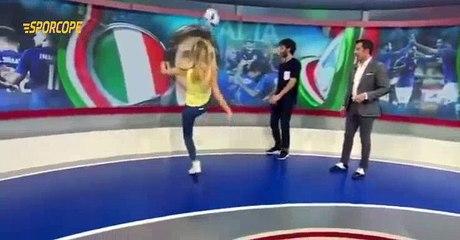 Del Piero Televizyon Kanalında Top Oynadı