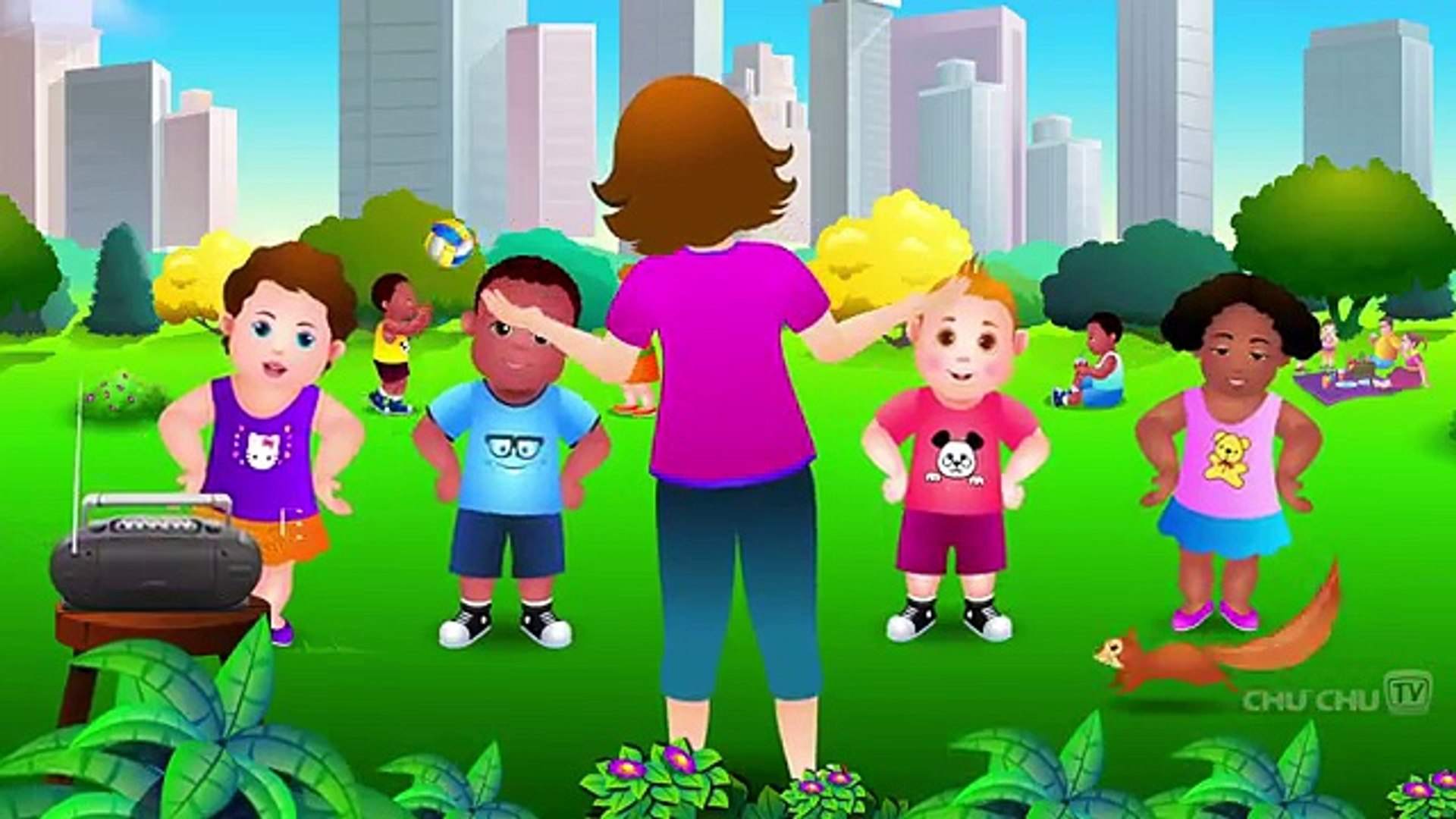 Song Kid ( Exercise) Aerobics Music, Kid sing song
