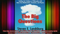 READ book  The Big Questions Tackling the Problems of Philosophy with Ideas from Mathematics Full EBook