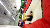 2010.07.26 - Sam's Gym - Advanced wall trampoline