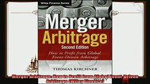 behold  Merger Arbitrage How to Profit from Global EventDriven Arbitrage Wiley Finance