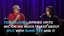 Tom DeLonge quit Blink-182 to focus on aliens