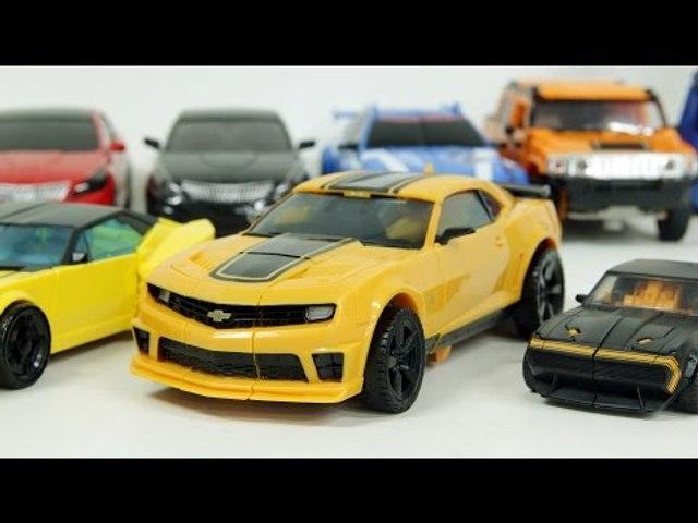 Transformers Bumblebee Carbot Tobot Transformation Robot Car Toys 트랜스포머 범블비 헬로카봇 또봇 자동차 장난감 변신 동영상