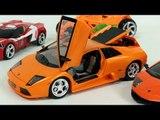 SuperCar Lamborghini Carbot  Tobot  Robot Transformation Car Toys 슈퍼카 람보르기니  헬로카봇 또봇 자동차 장난감 변신 동영상