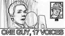 Junge hat 17 Sänger imitiert