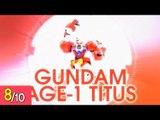 [REVIEW] MG 1/100 건담 AGE-1 타이터스 - Gundam AGE-1 Titus