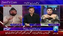 Apne Button Band Karo Mubashir Luqman to Qandeel Baloch in a Live Show
