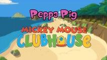 Peppa Pig em Português Brasil   Kinder Surpresa Eggs   Peppa Pig Alterar A Casa do Mickey Mouse