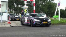 BMW M4 F82 with Full M Performance Exhaust - LOUD REVS!!