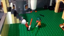 Lego Lightsaber battles from the Star Wars prequals