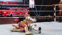 Raw- Kelly Kelly & Eve vs. Maryse & Melina