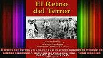 READ book  El Reino del Terror UN CASO INSOLITO vivido durante el reinado de Alfredo Stroessner  Full EBook