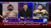 Apne Button Band Karo - Mubashir Luqman To Qandeel Baloch in Live Show