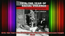 READ book  1919 The Year of Racial Violence How African Americans Fought Back Full EBook