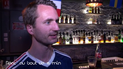 On a maté le match France-Suisse au Bergen