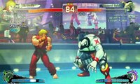 Ultra Street Fighter IV battle: Ken vs Zangief
