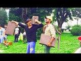Akshay Kumar Lifts Props On SINGH IS BLING Set