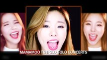 MAMAMOO TO HOLD SOLO CONCERTS