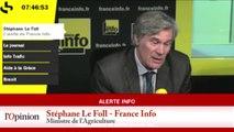 Stéphane Le Foll: « On ne recommencera pas à autoriser des manifestations qui conduisent aux débordements qu'on a connus. »